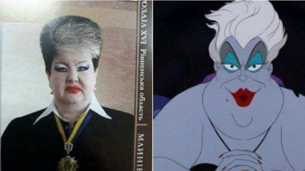 Dibilang Mirip Tokoh Jahat Disney, Hakim Ber-makeup Tebal Angkat Bicara