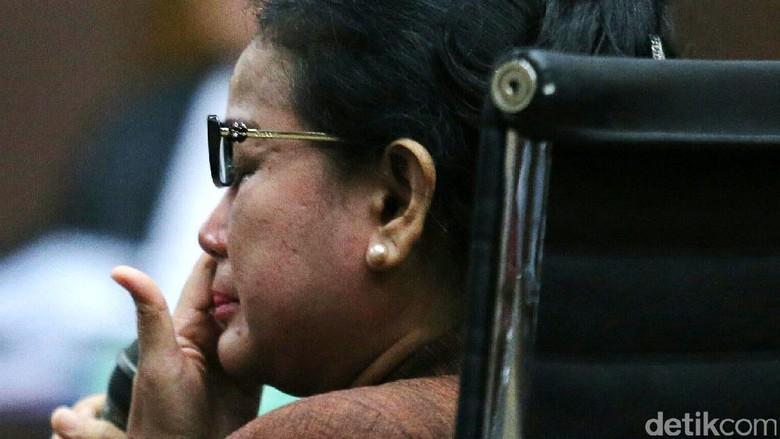 Detik-detik Penangkapan Miryam Haryani di Kemang