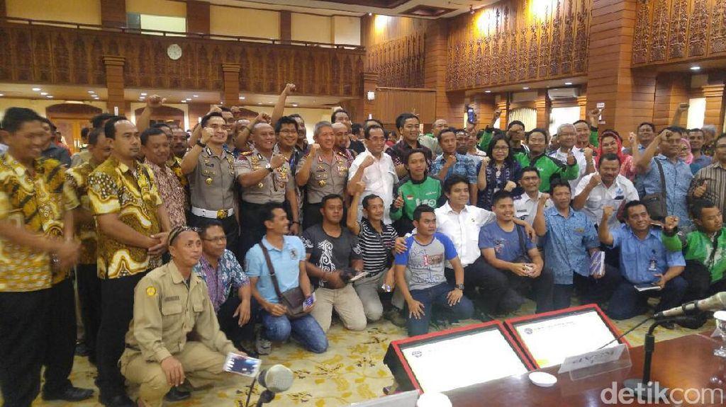 Wejangan Walkot Semarang Agar Tranportasi Online-Konvensional Akur