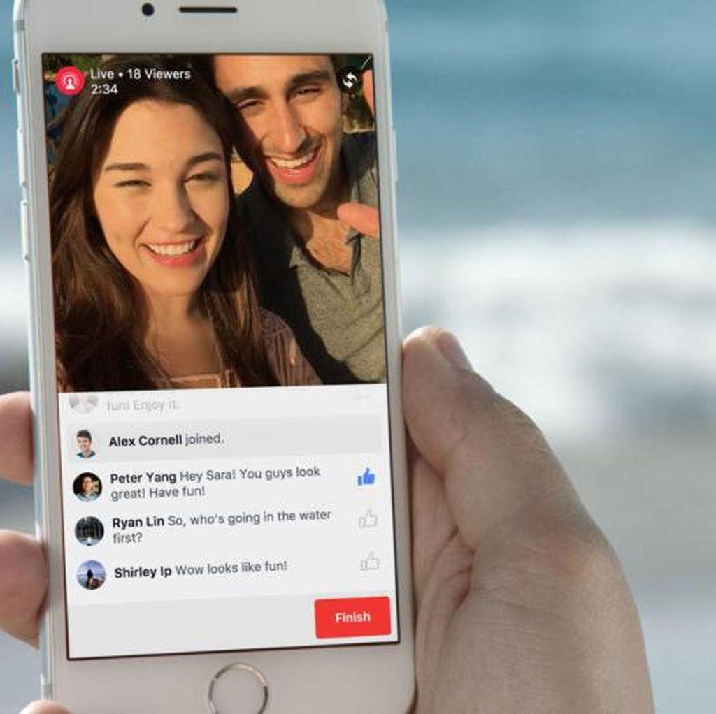 Facebook Live Bisa dari Desktop, Begini Caranya