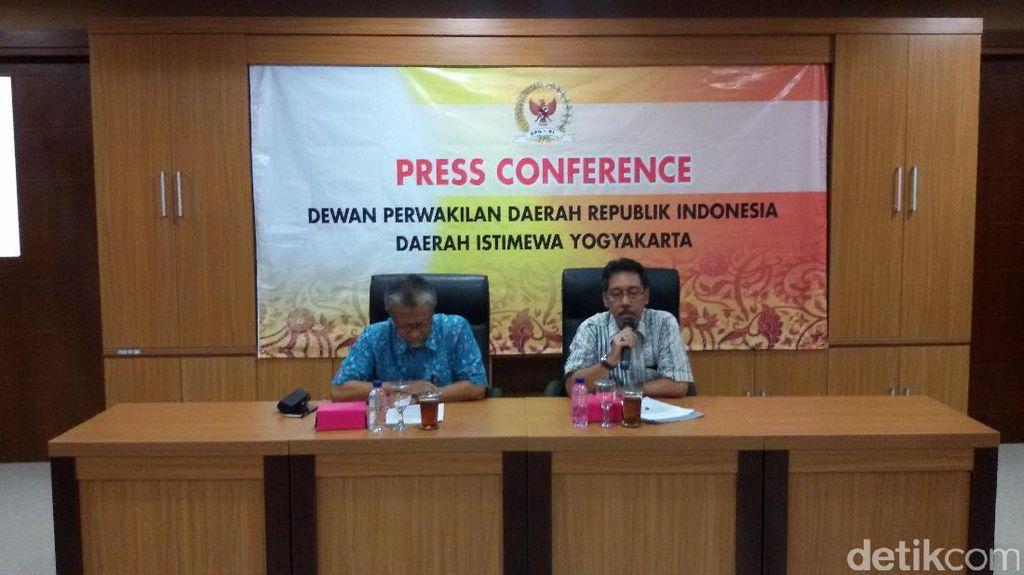 Senator Asal Yogya Keberatan soal Jabatan Ketua DPD 2,5 Tahun