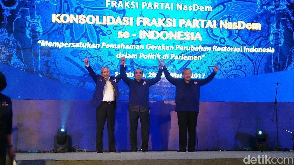 Siswono Yudo Husodo Diangkat Jadi Ketua Dewan Pertimbangan NasDem
