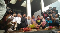 Temui Pendemo, Laode: Kasus Pertambangan Jadi Fokus KPK