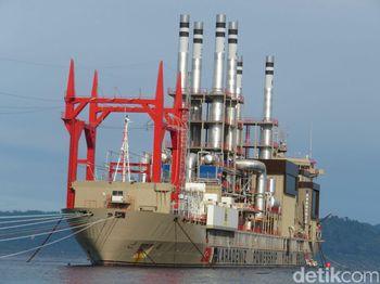 Kapal 'Genset Raksasa' Ini Bakal Pasok Listrik untuk Ambon