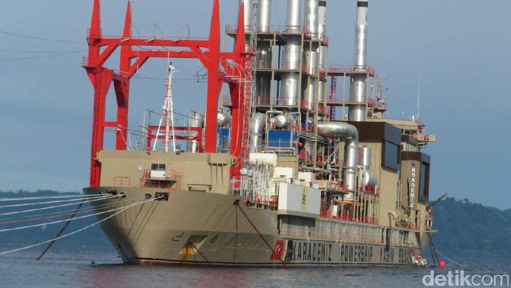 Ini Deretan Kapal Genset Raksasa yang Disewa PLN untuk Terangi RI