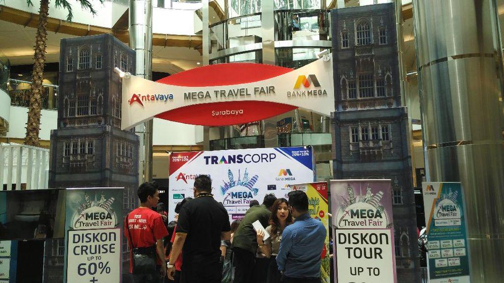 Cari Diskon Liburan ke Luar Negeri, Mampir ke Mega Travel Fair Surabaya