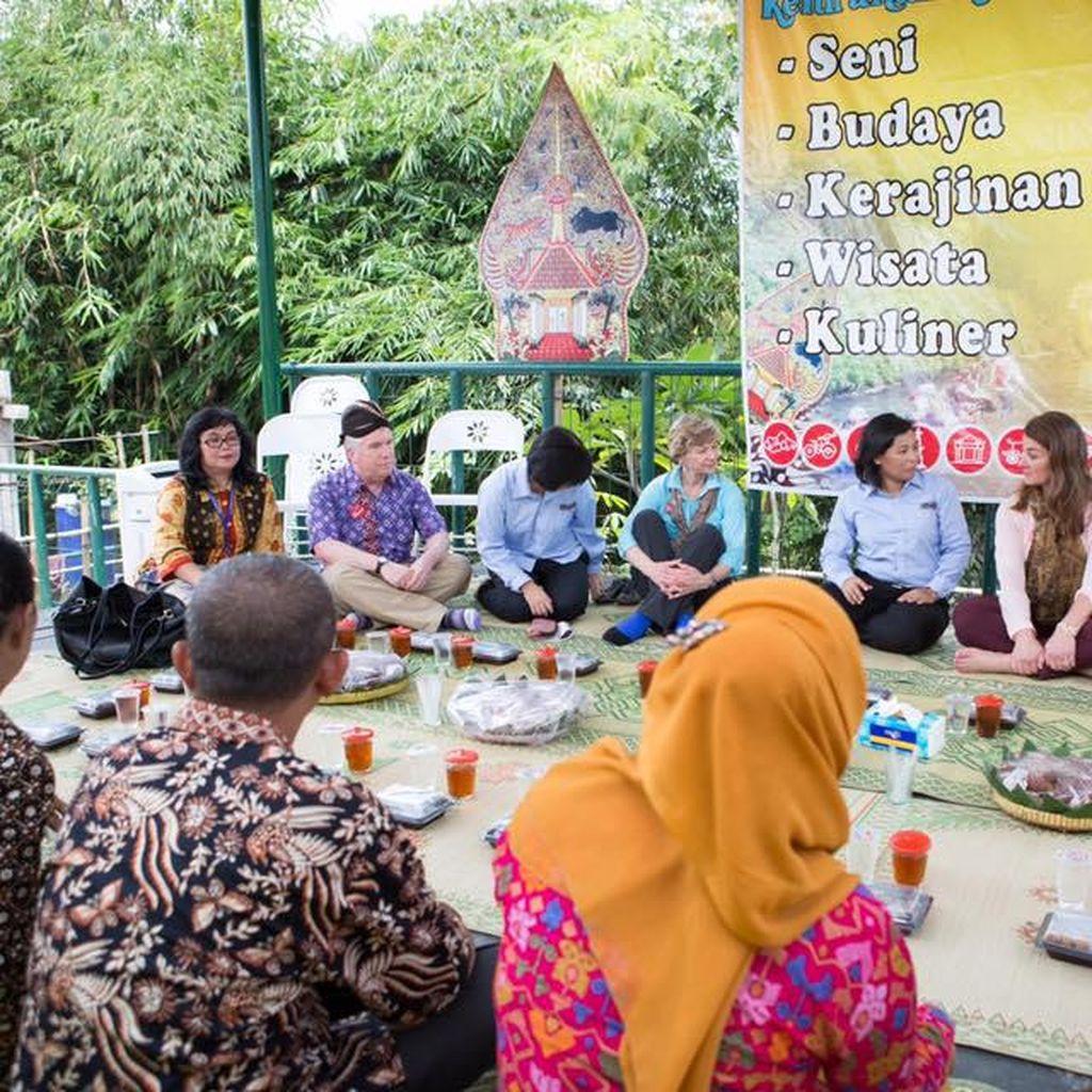 Cerita Warga Kricak Yogya saat Kampungnya Dikunjungi Melinda Gates