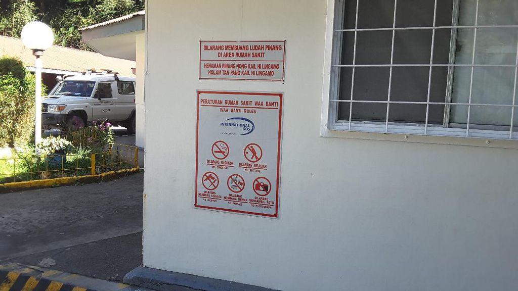Cegah Penularan TB, Pengunjung RS Ini Dilarang Sembarangan Buang Ludah Pinang