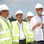 Jokowi dan Menteri PUPR Tinjau Bendungan Sei Gong di Batam