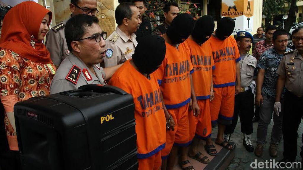 Polda Jatim Bongkar 8 Kasus Penyelundupan Benur Lobster