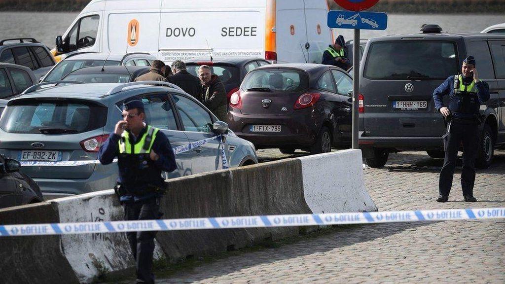 Tabrakkan Mobil ke Massa di Belgia, Pria Prancis Ditahan