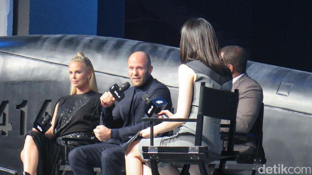 Jason Statham Cerita Keterlibatannya di Fast and Furious 8