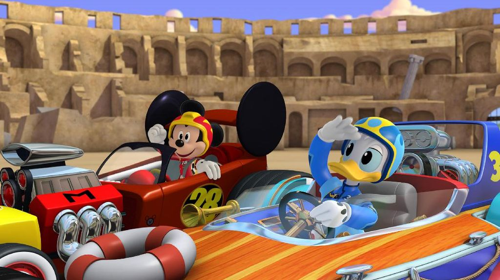 Mickey Mouse dan Kawan-kawan Jadi Pebalap di Mickey and the Roadster Racers