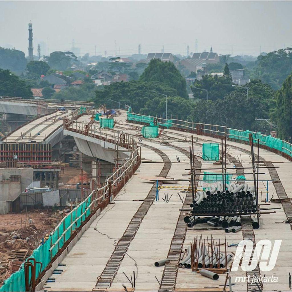 Djarot Belum Tahu Wacana Perpanjangan Rute MRT Fase II