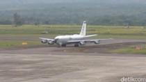 Begini Detik-detik Pesawat Militer AS Mendarat Darurat di Aceh