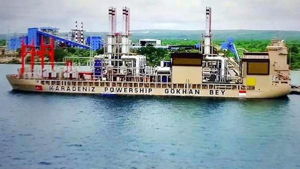 Ada Kapal Genset Raksasa, Listrik NTT Kini Surplus