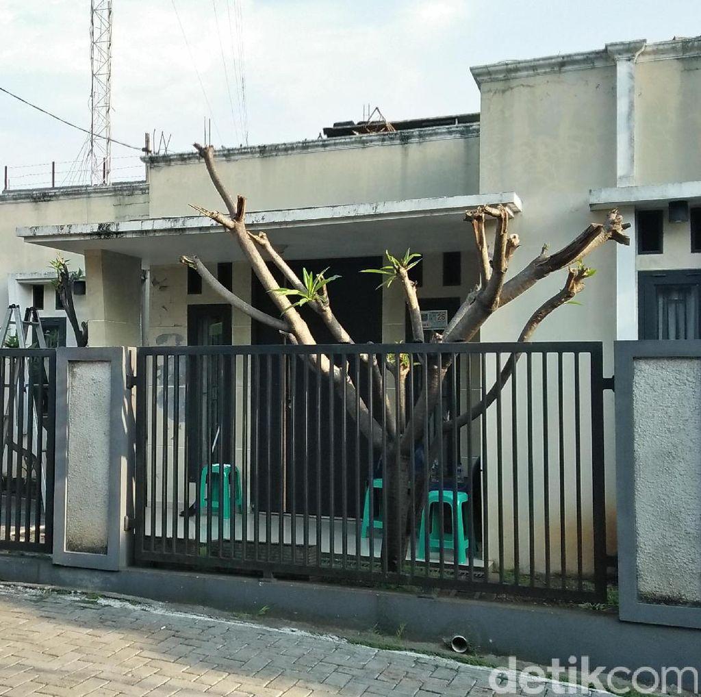 Digeledah Densus, Begini Penampakan Rumah Terduga Teroris Tangsel