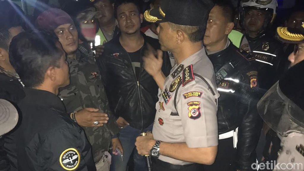 Polisi Berhasil Lerai Dua Kelompok Bentrok di Terminal Antapani