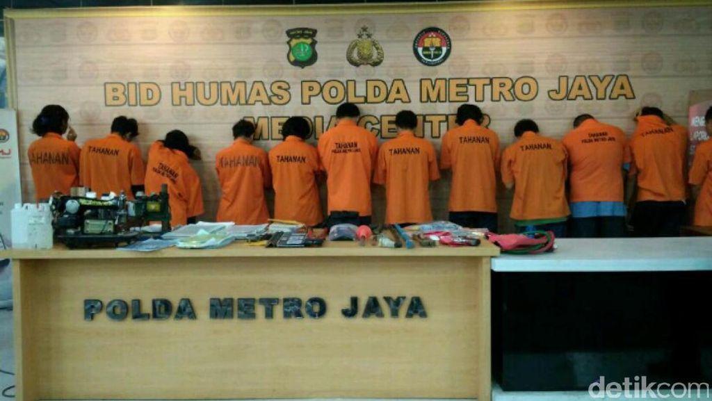 Polisi Tangkap Pencuri Motor yang Lawan Polisi Pakai Kapak