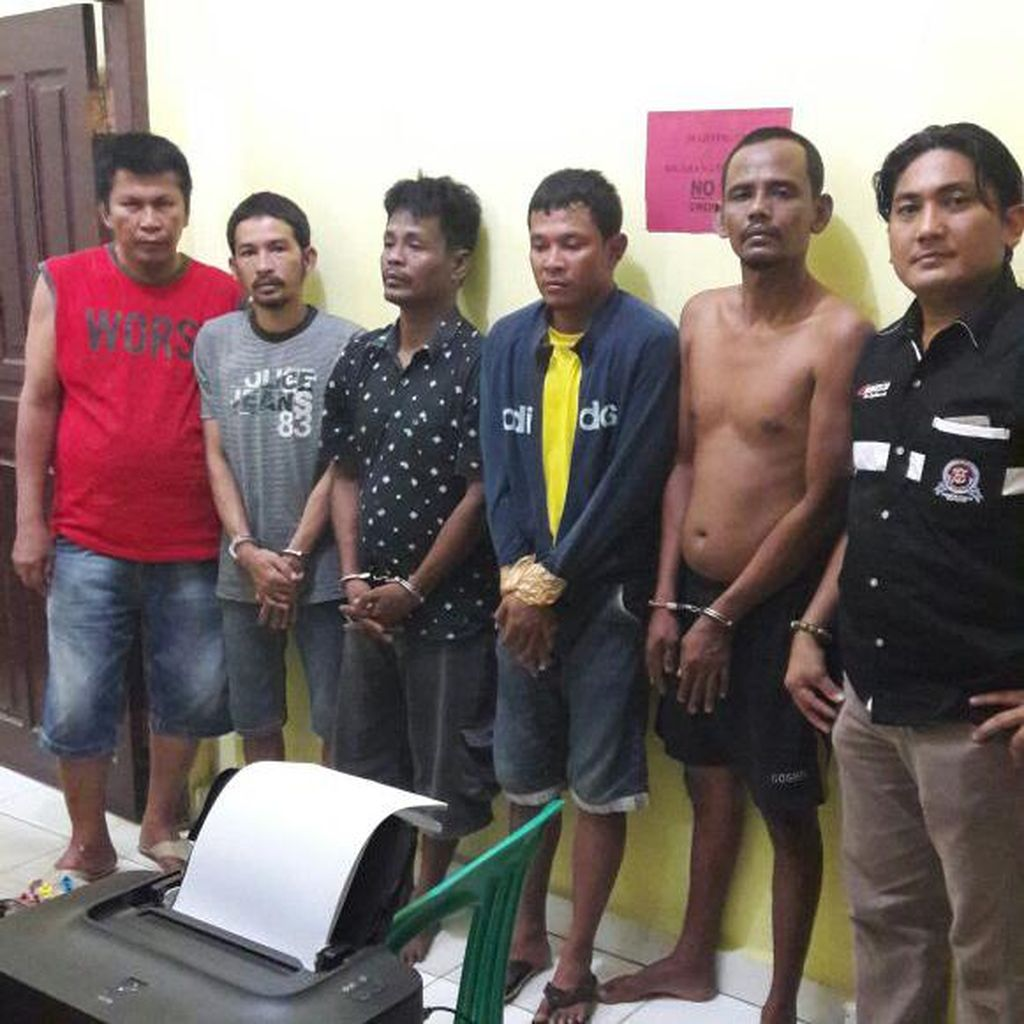 Empat Orang Pencuri Mobil di Kampar Riau Dibekuk