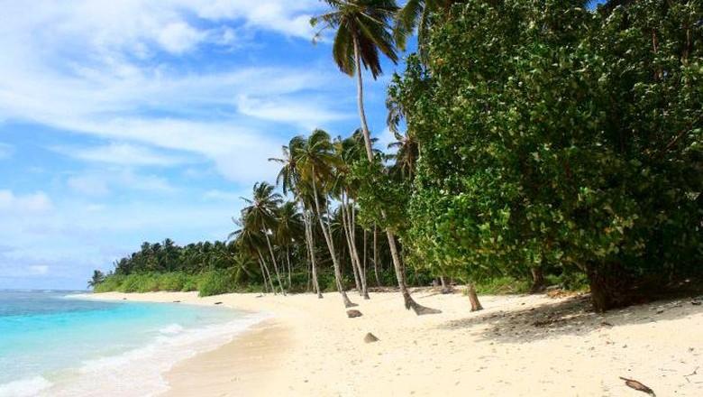 Kecantikan Pantai Katiet di Mentawai, Sumbar (Imran Rusli/dTraveler)