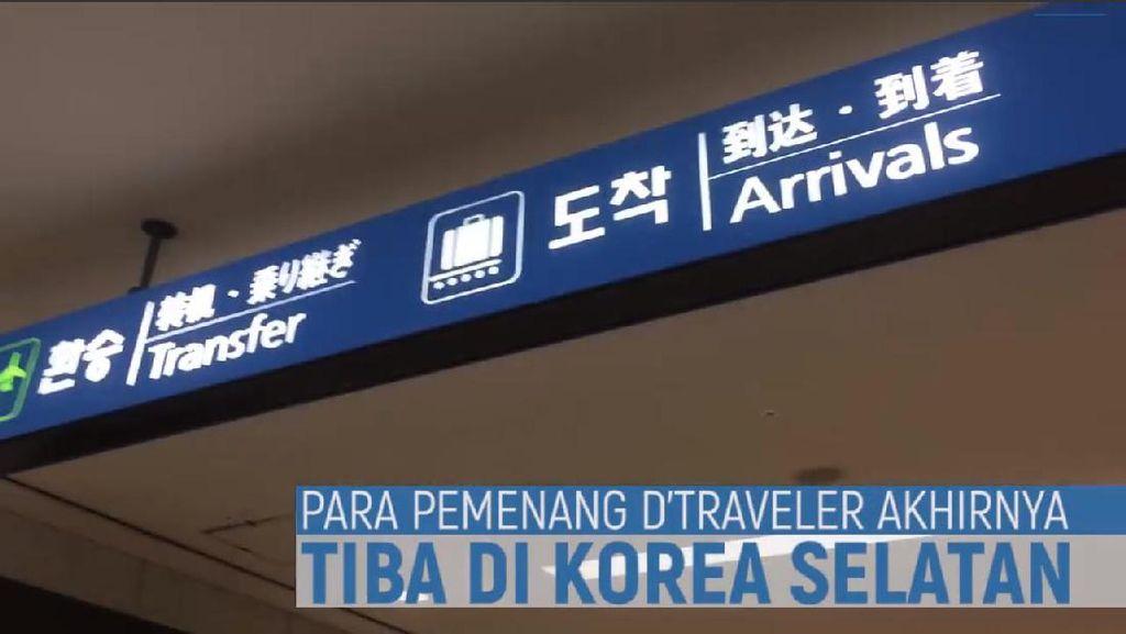 Yuk Lihat Keseruan dTraveler Saat Tiba di Korea