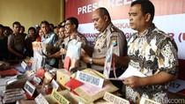 Polda Jatim Pamer Hasil OTT Selama 5 Bulan, 125 Orang Diamankan