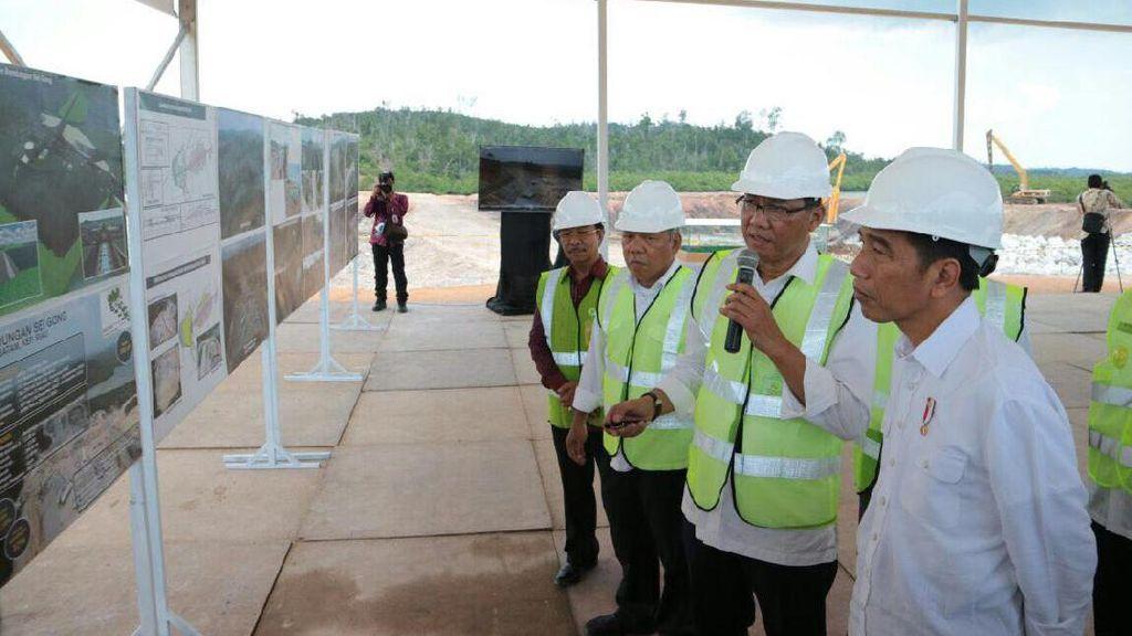Program Jokowi, 8 Bendungan Baru Rp 9,6 Triliun Dibangun