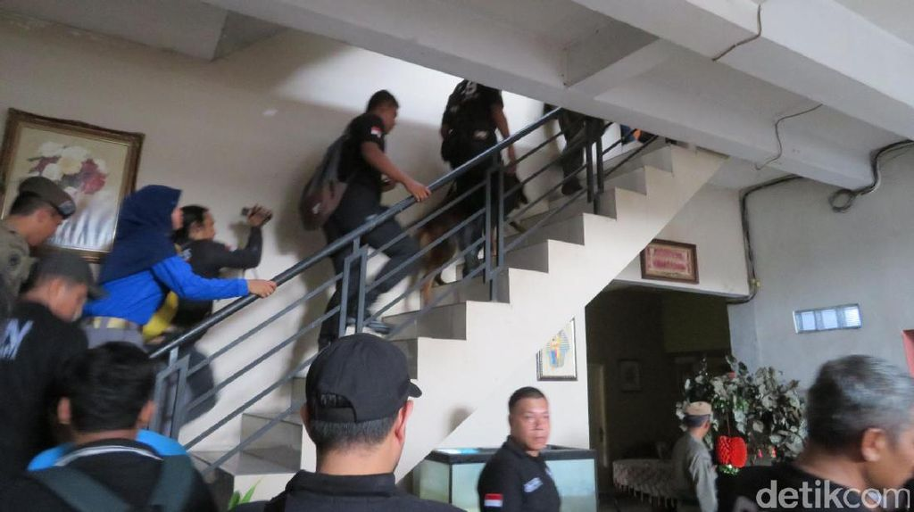 BNN DKI Sidak Rumah Kos di Palmerah, 3 Orang Positif Narkotika