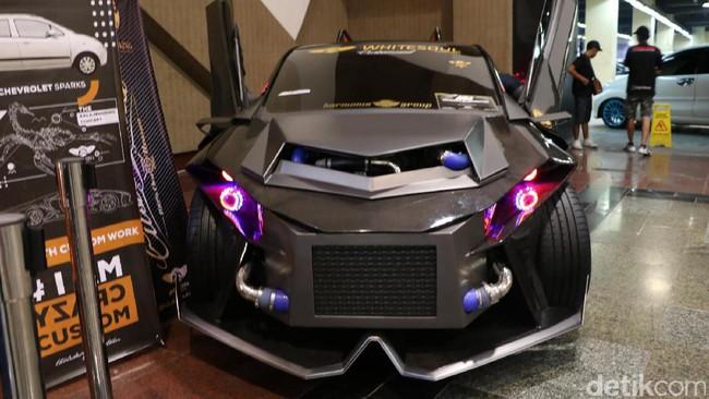 Gila! Chevrolet Spark Kalajengking, Mobil Sport 6x6
