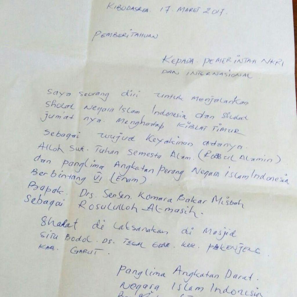 Polisi Periksa 7 Pengikut Wawan Jenderal NII