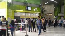 Menhub Pantau Persiapan Mudik Lebaran di Stasiun dan Bandara