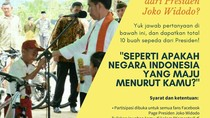 Netizen Tak Sabar Menunggu Pemenang #SepedaJokowi