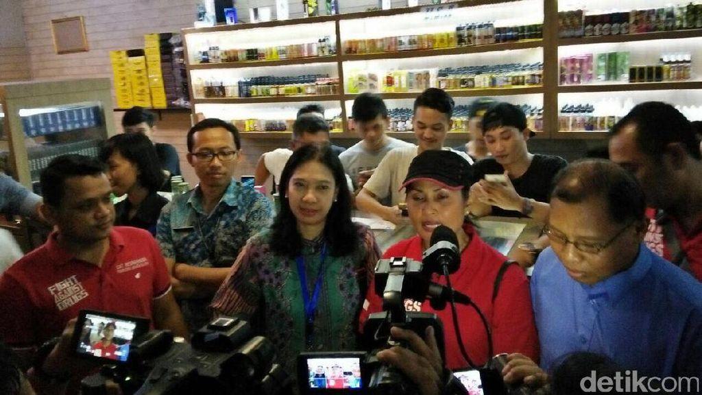 Cegah Peredaran Liquid Ganja, Polres Jaksel Cek Toko Penjual Vape
