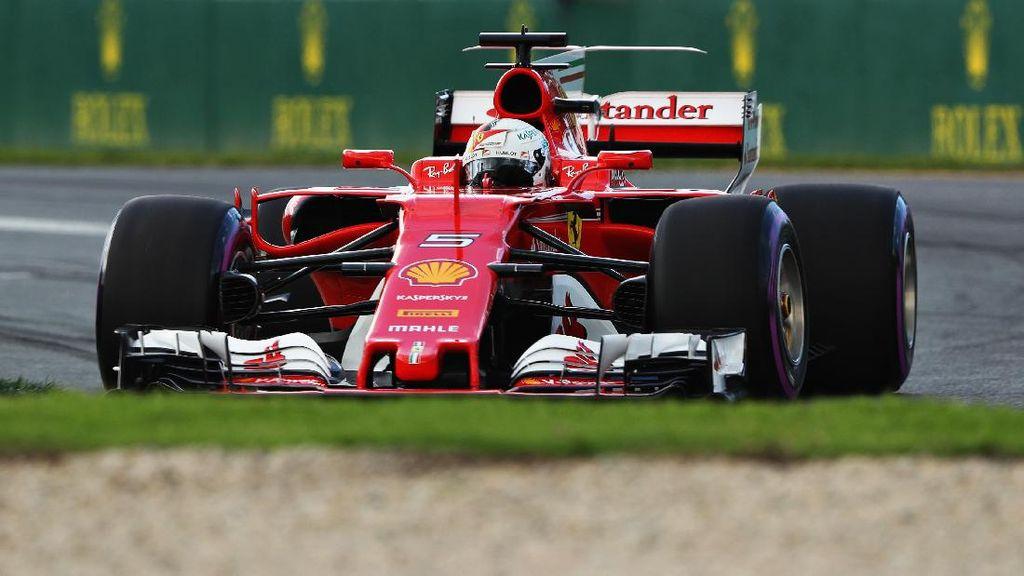 Vettel Ungguli Duo Mercedes di Sesi Latihan Bebas Ketiga