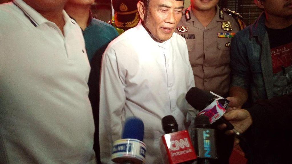 Siap Ikuti Proses Hukum, Rhoma akan Rehab Ridho yang Pakai Sabu