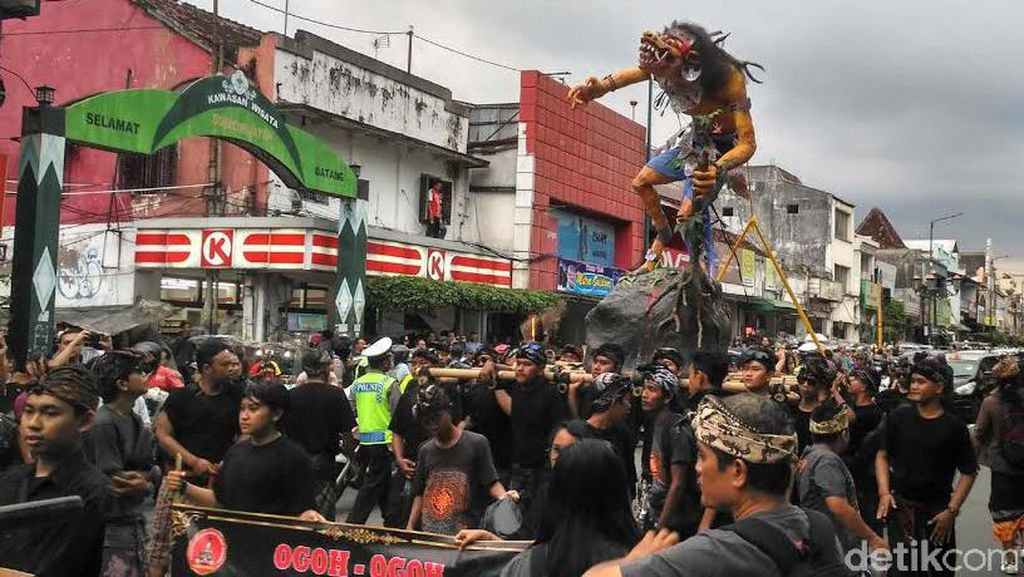Jelang Nyepi, 22 Ogoh-ogoh Dikirab di Yogyakarta