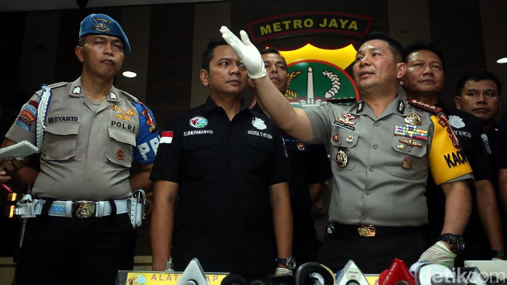 Polisi Selidiki Pemasok Sabu Ridho Terkait Jaringan Internasional
