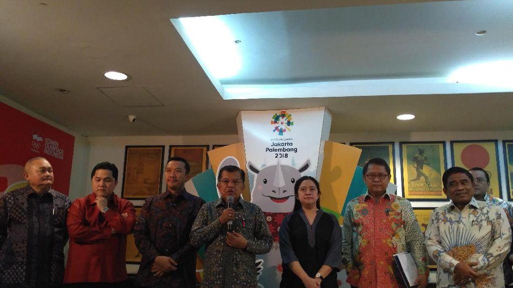 Perkembangan Persiapan Asian Games, JK: Sesuai Rencana, tapi Perlu Perbaikan