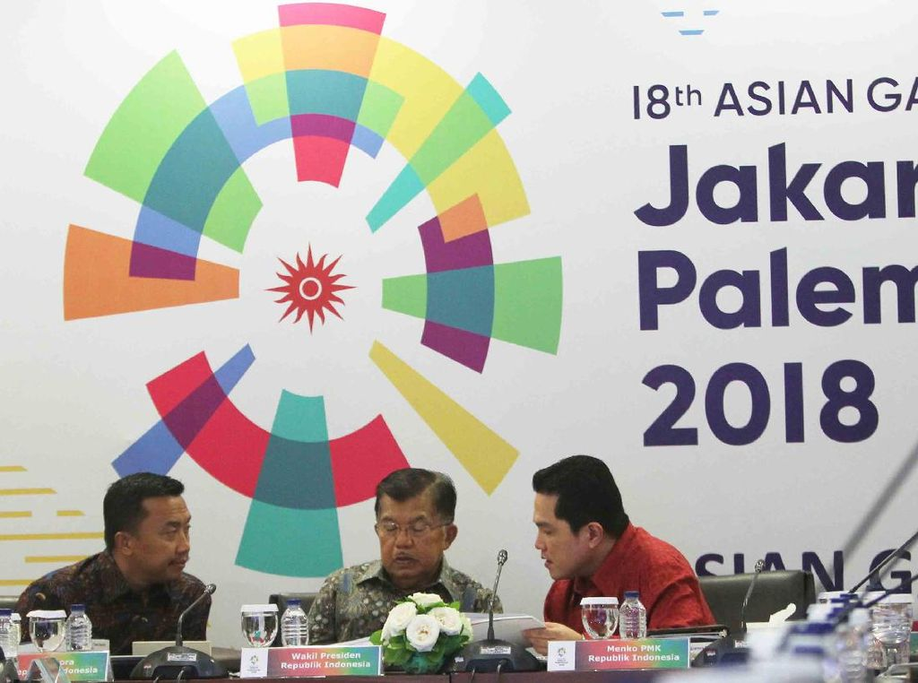 Pos Mana yang Akan Terimbas Penghematan Anggaran Asian Games 2018?