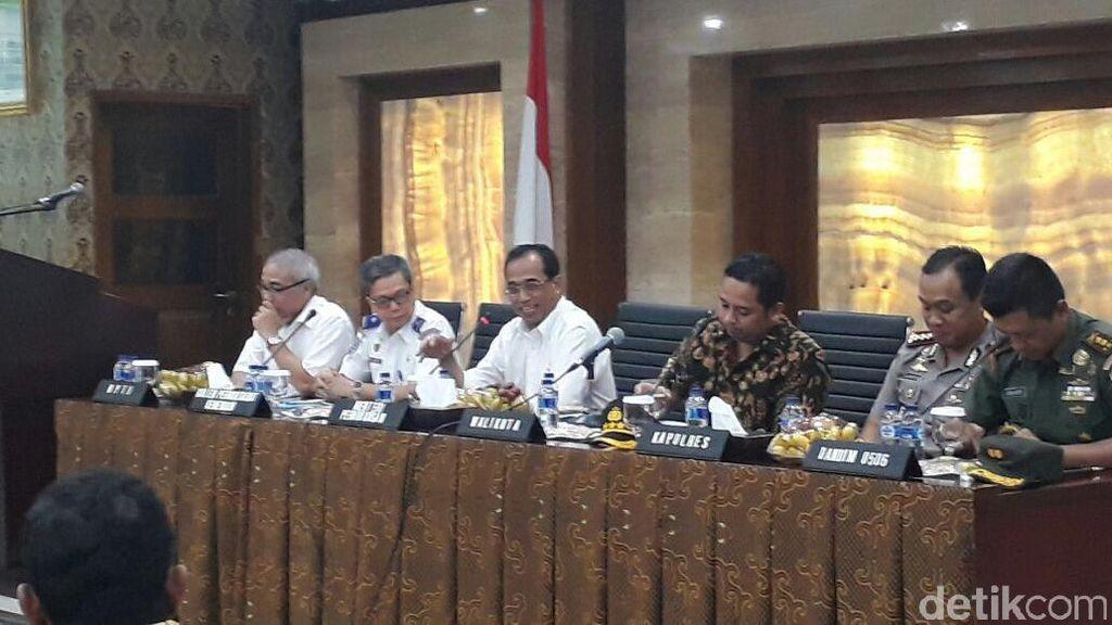 Menhub Sosialisasi Aturan Baru Angkutan Umum ke Puluhan Sopir di Tangerang