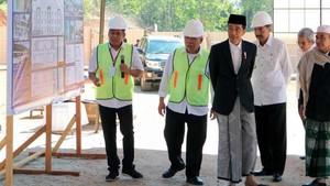 Presiden Groundbreaking Rusun Ponpes di Mandailing Natal