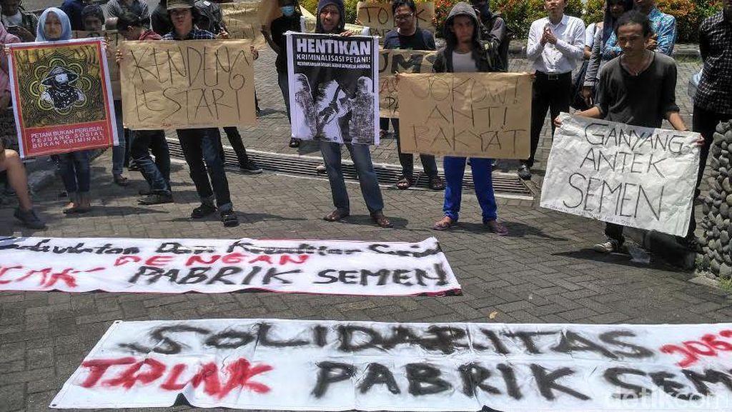 Solidaritas Kendeng, Mahasiswa Jogja Tolak Ganjar Pranowo