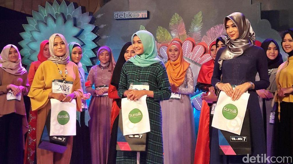 Ini 3 Juara Favorit Juri Sunsilk Hijab Hunt 2017 Surabaya