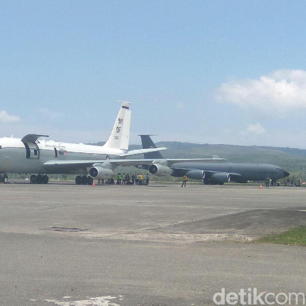 Pesawat Militer AS dari Diego Garcia Jemput 14 Kru di Aceh