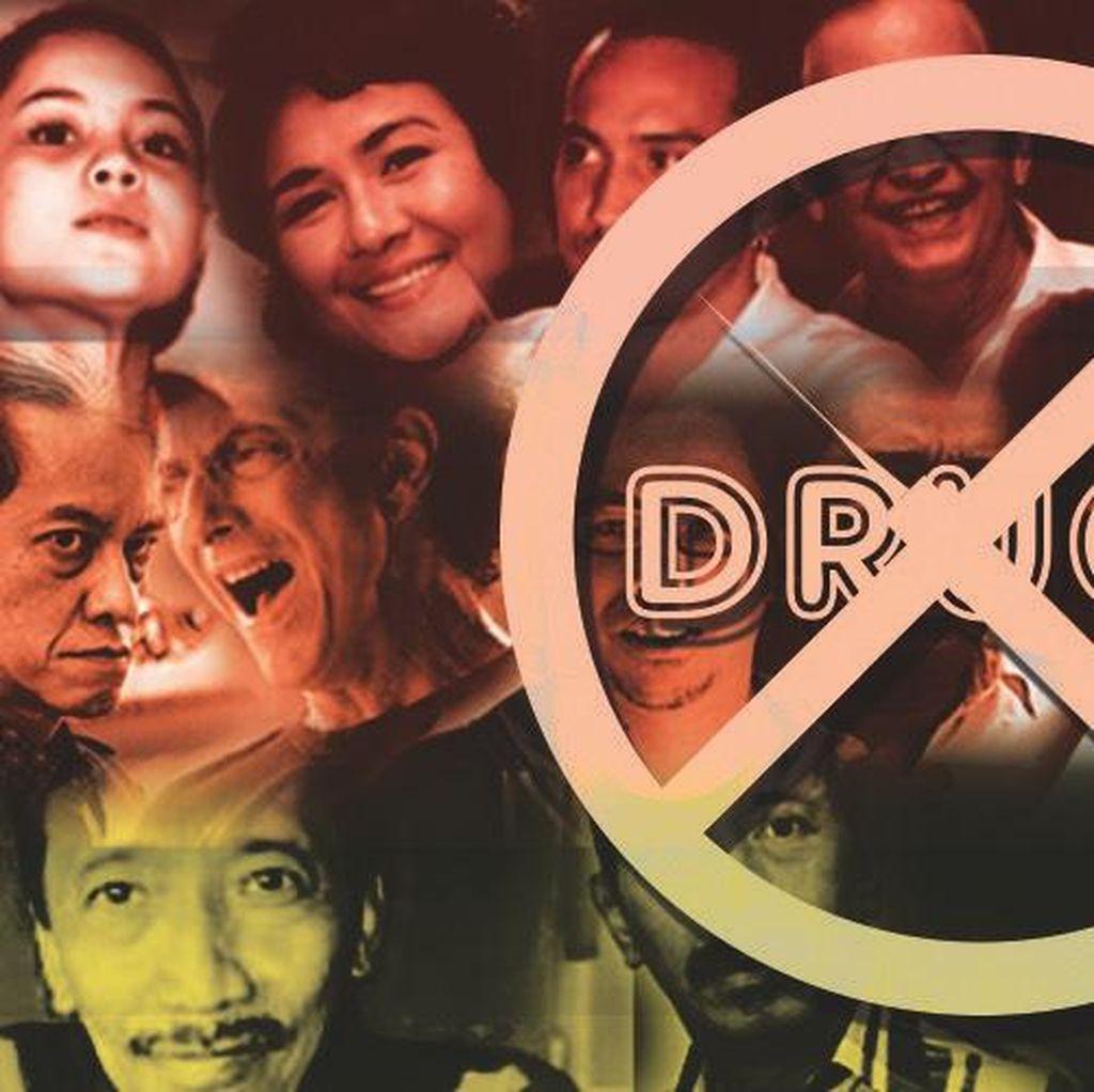 Deretan Selebriti yang Terjerat Narkoba