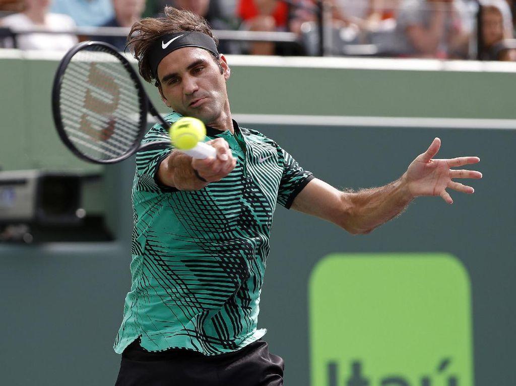 Federer Menang Straight Set di Laga Pertama