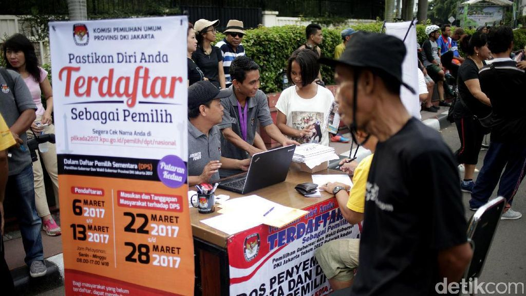 KPUD DKI Buka Pengecekan Pemilih