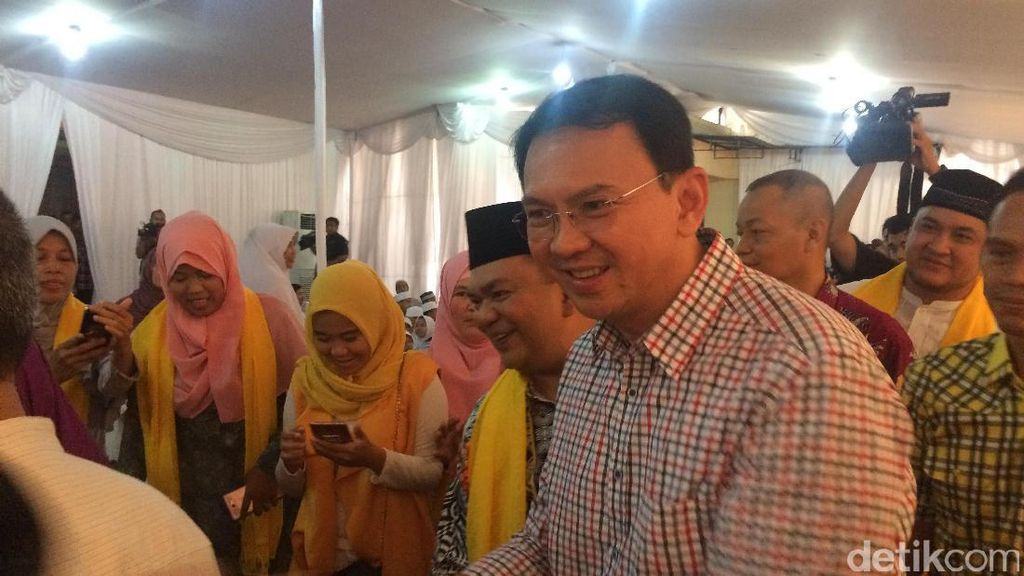 Cerita Ahok Soal Pertemanan dengan Anggota DPRD DKI dari PPP