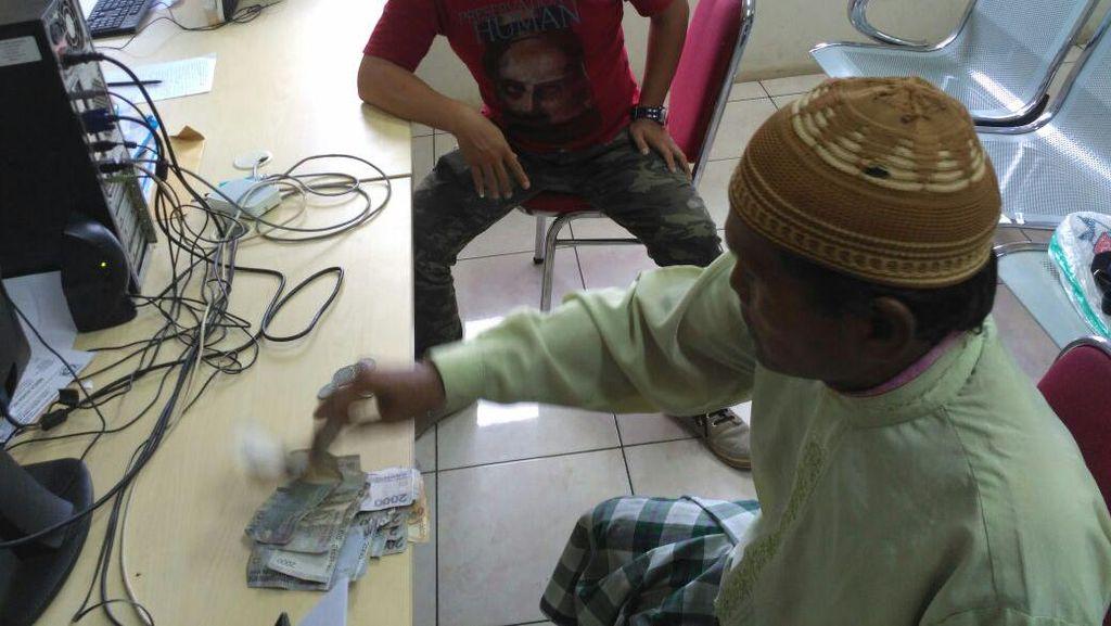 Dinsos DKI Ciduk Pengemis yang Mampu Raup Rp 45 Ribu dalam 15 Menit